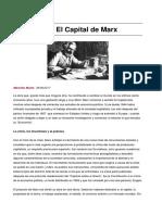 Musto Marcelo. Cómo Nació El Capital de Marx