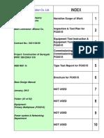 Index for Base Design Manual