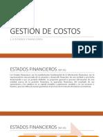 1.3 Estados Financieros