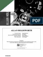 28313 Allan Holdsworth Booklet