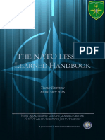 Lessons Learned Handbook 3rd Edition