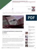 El Decálogo Del Fraude Electoral y La Elección de Estado en Edomex - Proceso