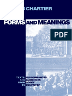 (New Cultural Studies Series) Roger Chartier-Forms and Meanings_ Texts, Performances, and Audiences from Codex to Computer-University of Pennsylvania Press (1995).pdf