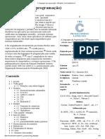 2 - C (Linguagem de Programação) - Wikipédia, A Enciclopédia Livre