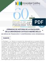 Convocatoria - Jornadas 60 años Escuela de Psicología UCAB.pdf