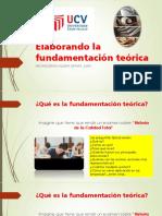 Elaborando La Fundamentación Teórica