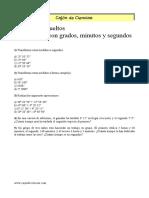 Ejercicios Trigonometria Con Soluciones