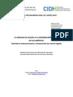 El Acceso a La Informacion en Las Americas 2012 05 07