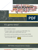 Presentación_Present Perfect Simple and Continuous