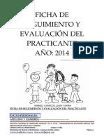 Ficha de Seguimiento y Evaluación Del
