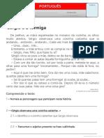 Texto - Sérgio e a formiga.pdf