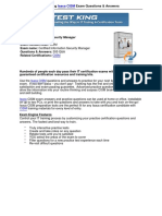 TestKing CISM.pdf