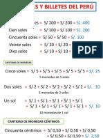 Monedas y Billetes Del Perú