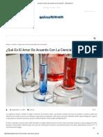 ¿Qué Es El Amor de Acuerdo Con La Ciencia_ - GalarScience