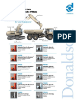 F111262 1.09 Donaldson Featured Parts Mobile Hydraulics