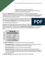 Formas Graficas de Representación de Las Organizaciones y Haciendo Énfasis en Las Técnicas Para La Elaboración de Organigramas