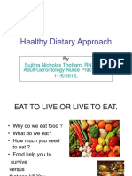Healthy Dietary Approach (1)
