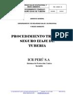 Procedimiento de Izaje de Tuberías