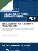 CB Insights Genomics Tech 2017