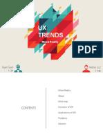 UX trends Final 1.1