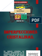 IMPERFECIONES CRISTALINAS