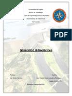 Generación Hidroeléctrica Seni