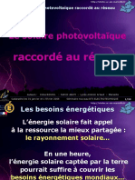 Le Solaire Photovoltaïque Raccordé Au Réseau