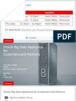 CON8279 Kent-2014.09.29 Dijcks Kent OOW Oracle Big Data Appliance OOW V3
