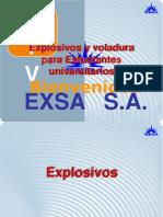 Mezclas Explosivas y Accesorios de Voladura