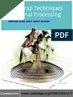 Zoubir, Iskander - Bootstrap Techniques for Signal Processing