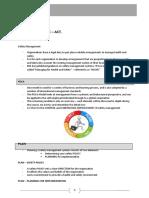 Case Study 5 - Plan - Do - Check - Act