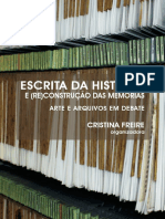 Escrita da História e (re)construção das memórias