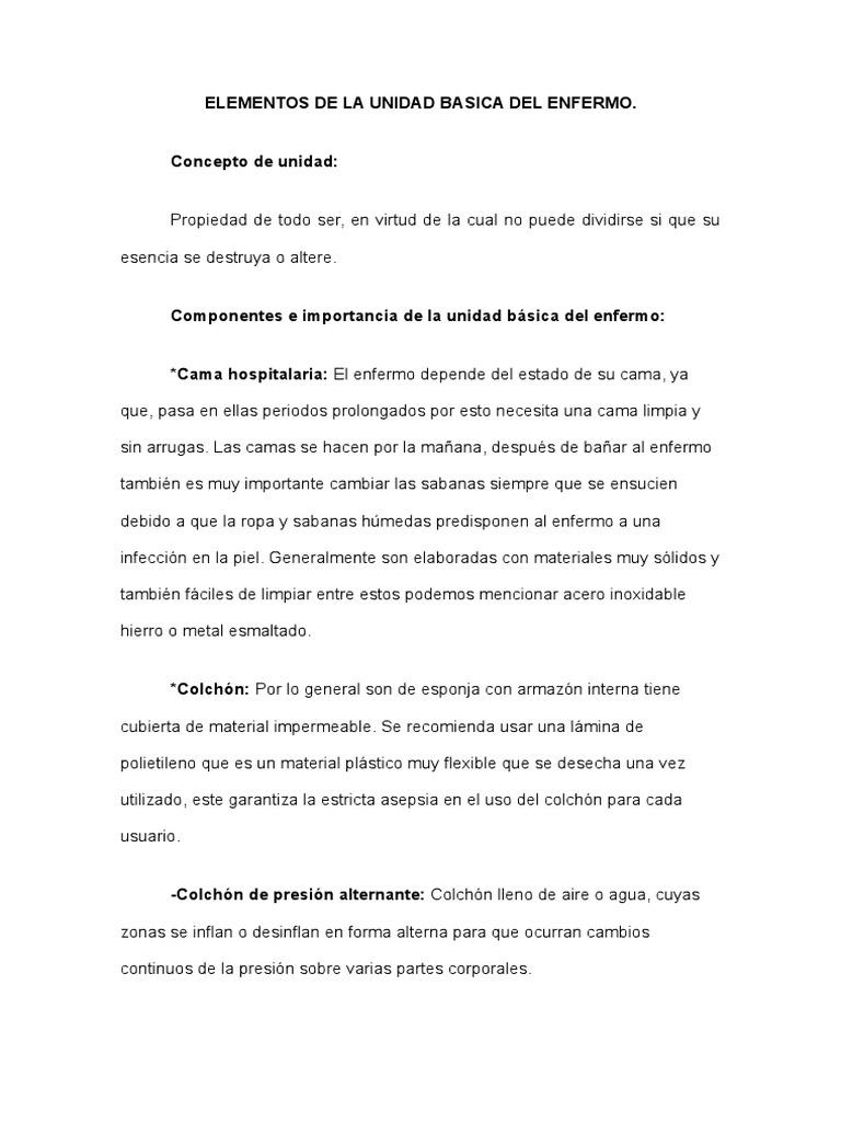 ELEMENTOS DE LA UNIDAD BASICA DEL ENFERMO.doc