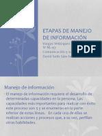 Etapas de Manejo de Información Daniela Itzel vargas