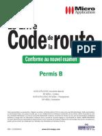 Livre Code de la route. Permis A