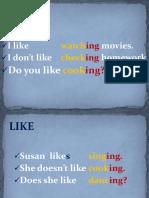 Like vs Would like