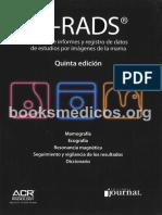 BI-RADS. ACR 5a Ed