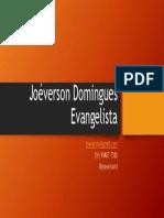 Joéverson Domingues Evangelista Cartão de Contatos