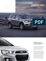 Catalogo Nueva Chevrolet Captiva