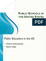 US Eduction and History