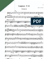 Mozart Symphony 37 - Hn 1