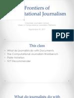 Computational Journalism 2017 Week 4