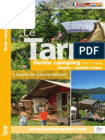 Le Tarn Guide Camping 2017-2018