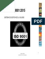 Comentarios ISO 9001 - 2015