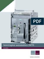 Manual de Interruptor SIEMENS 3WT8