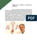 Unidad 4.- Metodologia Para La Creacion e Innovacion de Estructuras Organizacionales