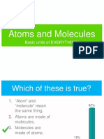 Atom and Molecules