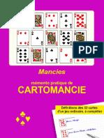 Cartomancie - Memento de Cartomancie