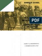 Dussel Enrique - Marx Y La Modernidad - Conferencias De La Paz.pdf