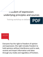 Session 1-freedom of speech